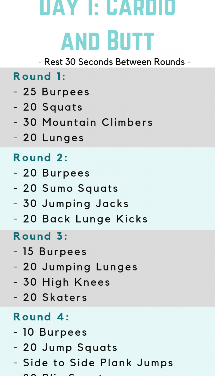 FREE 7 Day Workout Plan - Be Fortuneit   Cardioworkout  fortuneit  workout #fitness #healthy #yoga #...