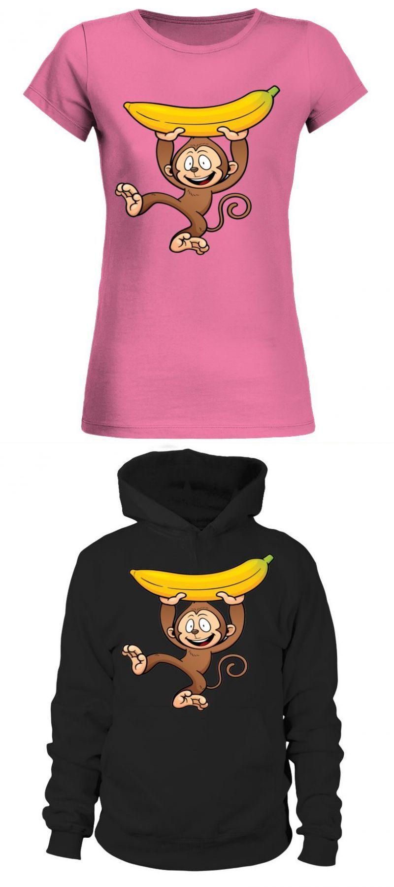 Gas monkey garage t shirt cartoon monkey holding banana puppy monkey baby t shirt #gasmonkeygarage