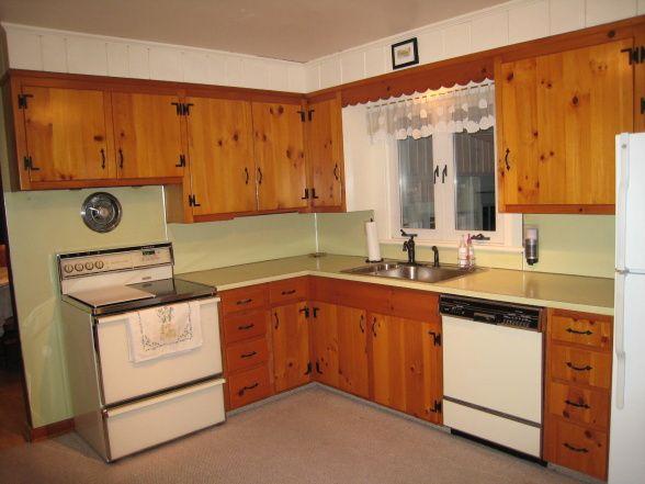 1950s Knotty Pine Kitchens Knotty Pine No No Lovely Knotty Pine