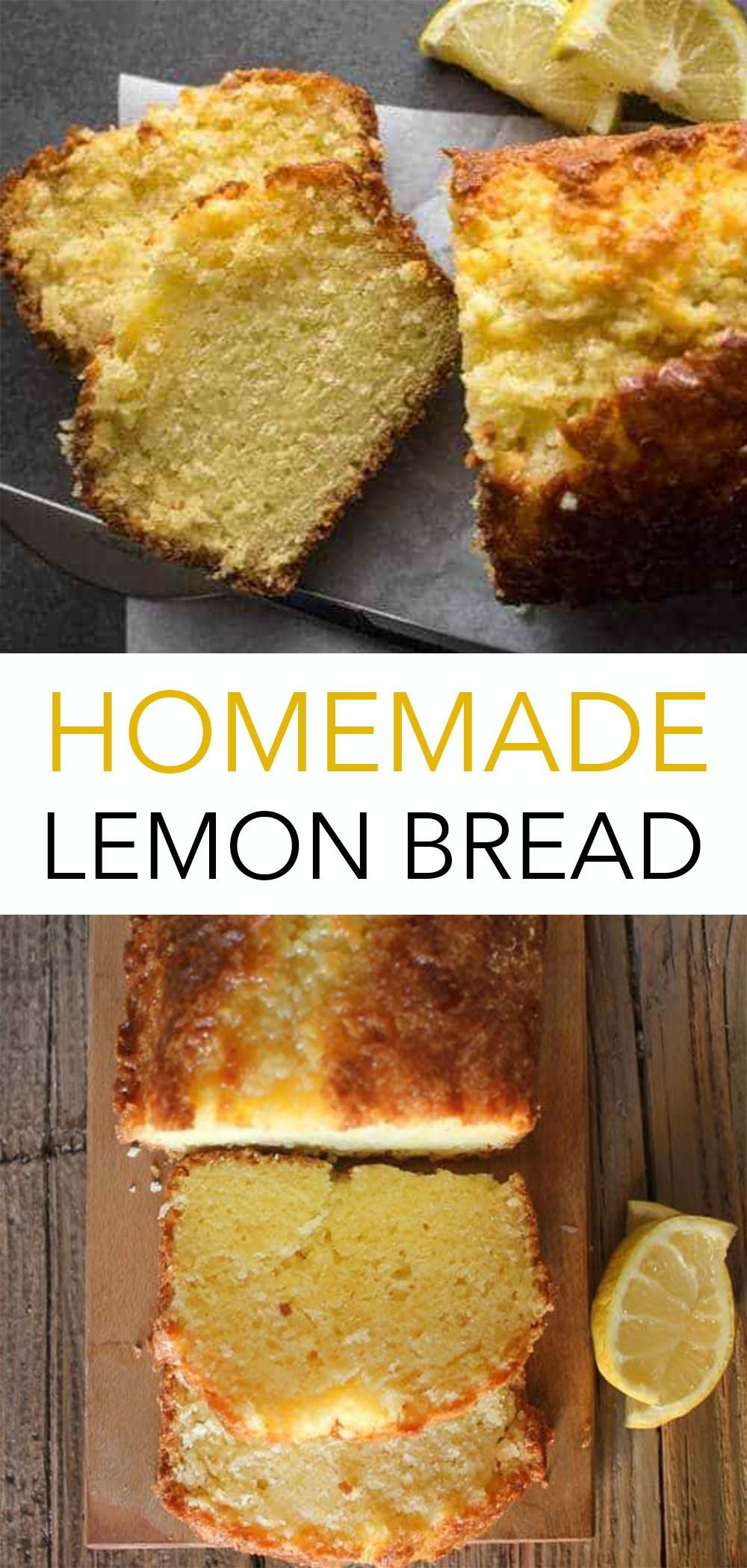 Best Homemade Lemon Bread In 2020 Easy Lemon Bread Recipes Lemon Bread Recipes Lemon Recipes