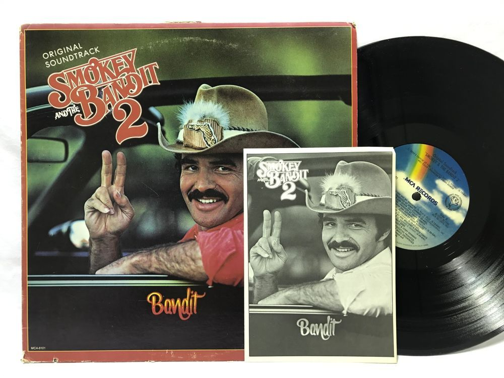 Smokey and the Bandit 2 Soundtrack LP #Vinyl Record + T-shirt - t shirt order form