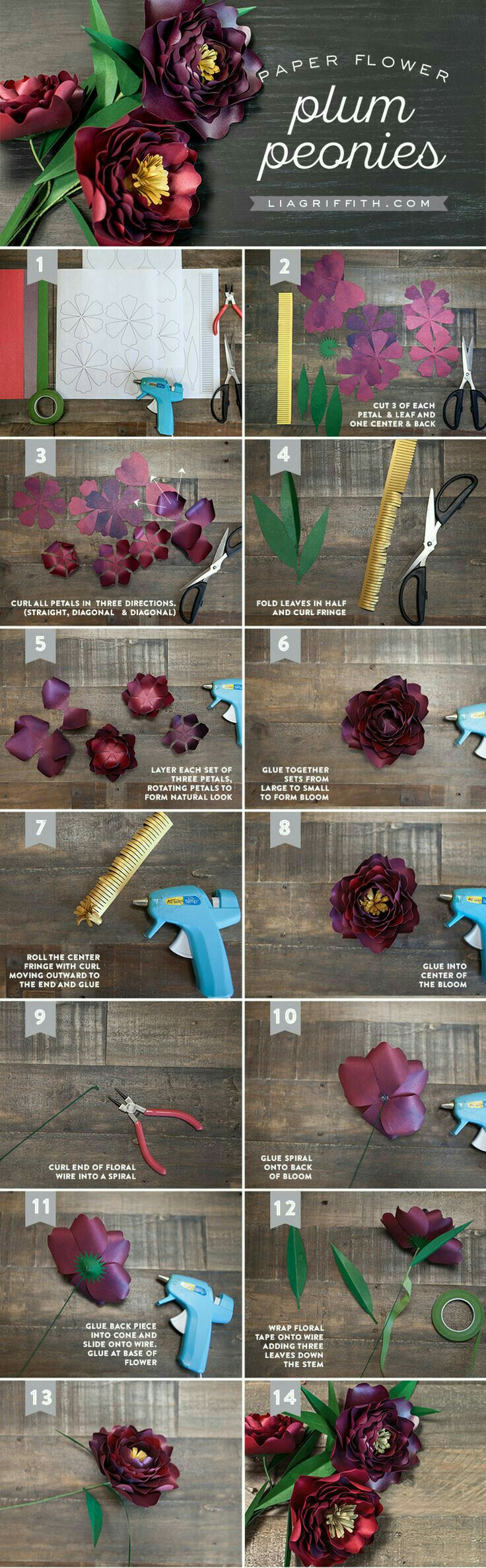 Pin By Wenny Yong On Diy Paper Lia Griffith Pinterest Crepe