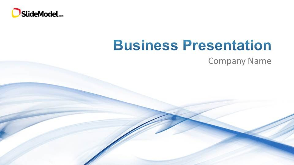 Light Business PowerPoint Template Business powerpoint templates - professional business profile template