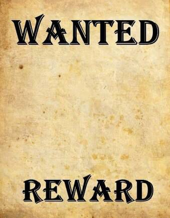 Template of a wanted poster | western | Pinterest | Template