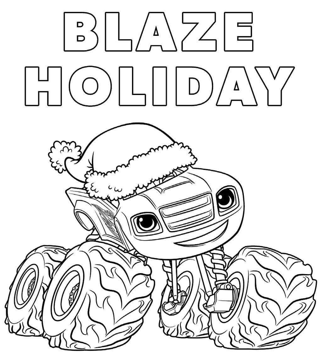 29 Inspirational Blaze And The Monster Machines Coloring