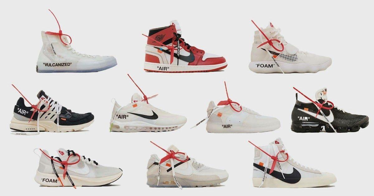 outlet store 9f6ed 3fd5e Hace un año off White anunciaba la colaboración ´The Ten  con Nike , Virgil  Abloh convirtió las 10 mejores silueta de nike en algo complet.