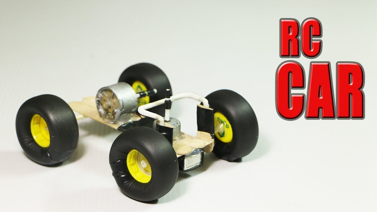 How To Make A Simple Rc Car That Goes In All Directions Usb Pocket Very Radio Control R C