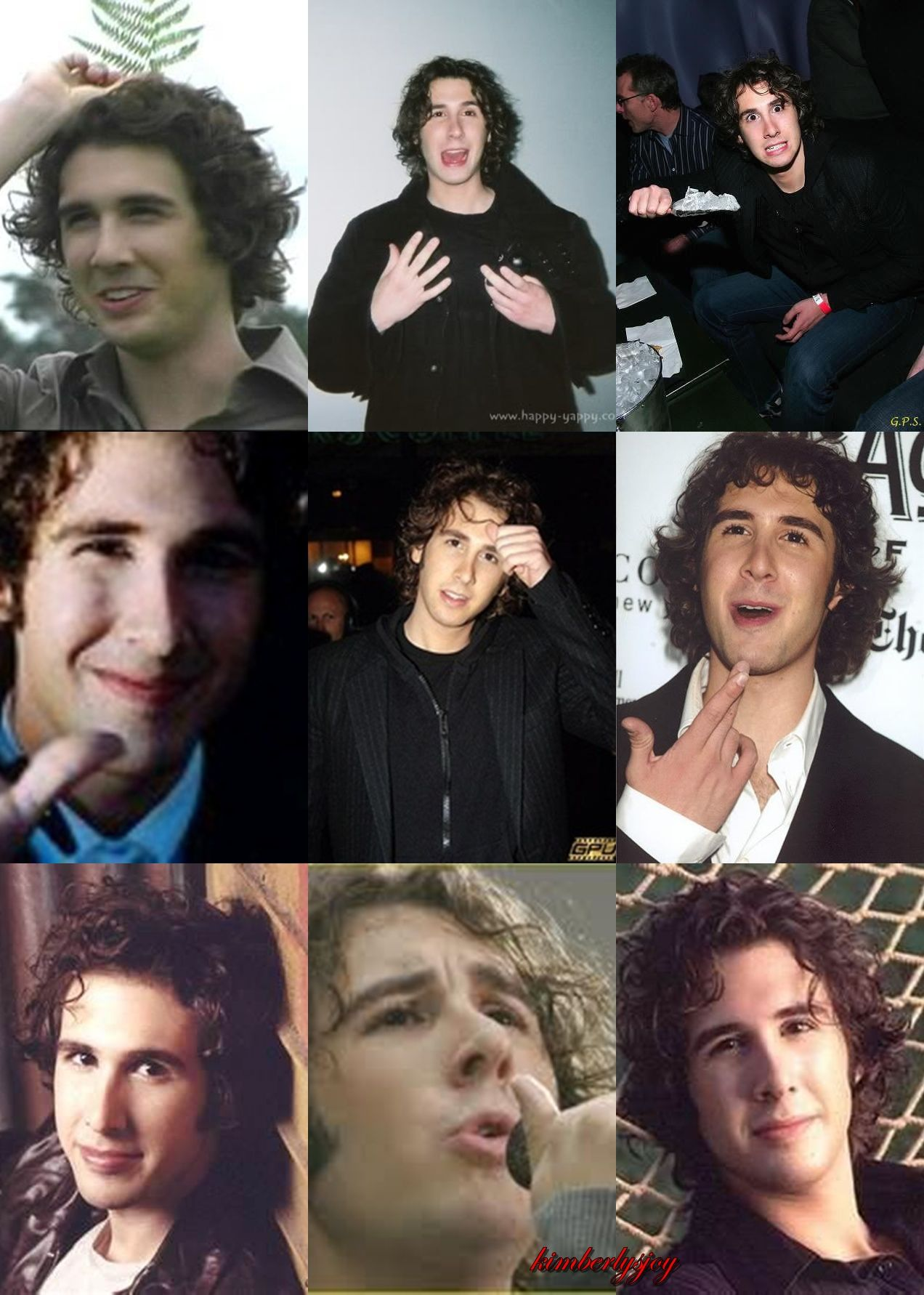 Young Cute Josh Collage