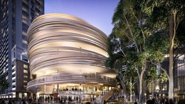Kengo Kuma presenta diseño de su primer edificio en Australia,© Kengo Kuma, via SMH