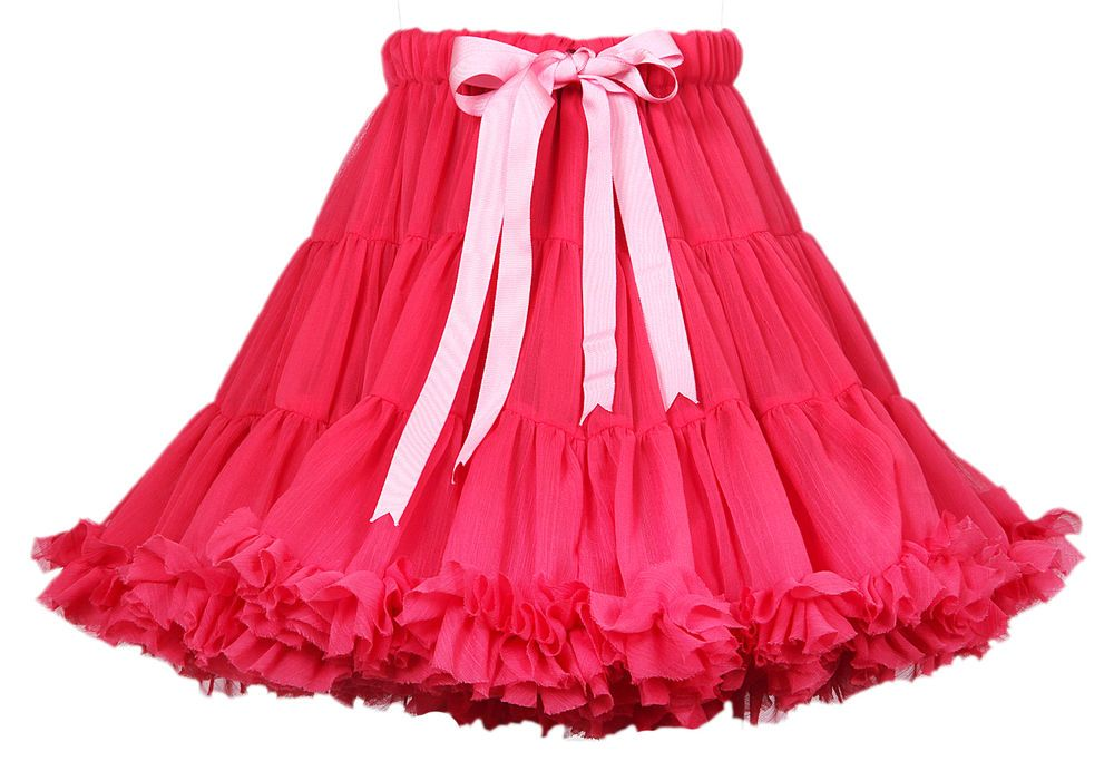Red layered skirt (Christmas Discount Offer) Layered