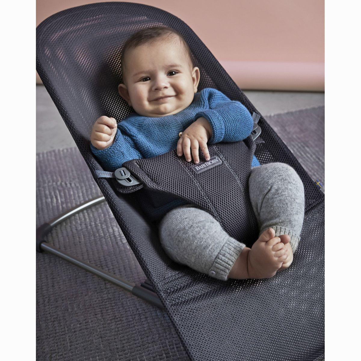 mesh baby bouncer seat