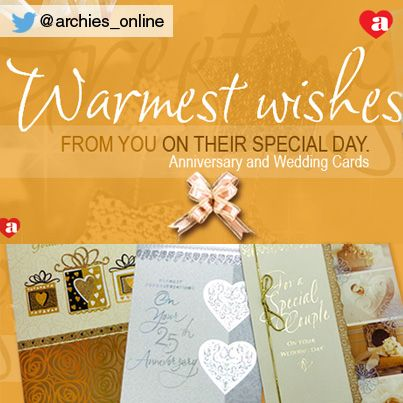 Shop Online At Http Www Archiesonline Com Shop Greeting Cards O 2 C 3 Greetings Anniversary Cards Expressions Archie Wedding Cards Archies Online Cards