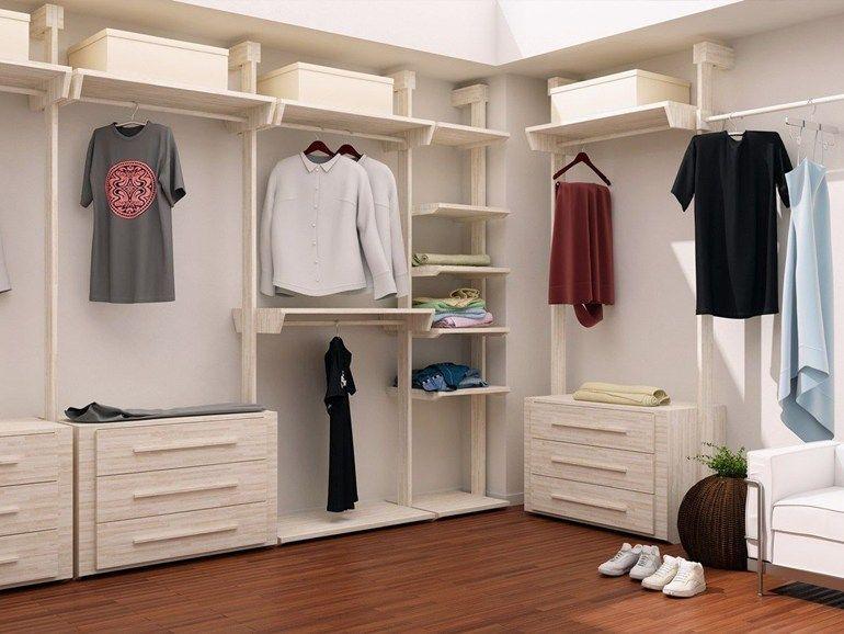 Creare mobili ~ Cabina armadio con cremagliera.jpg 770×578 crea mobili pinterest