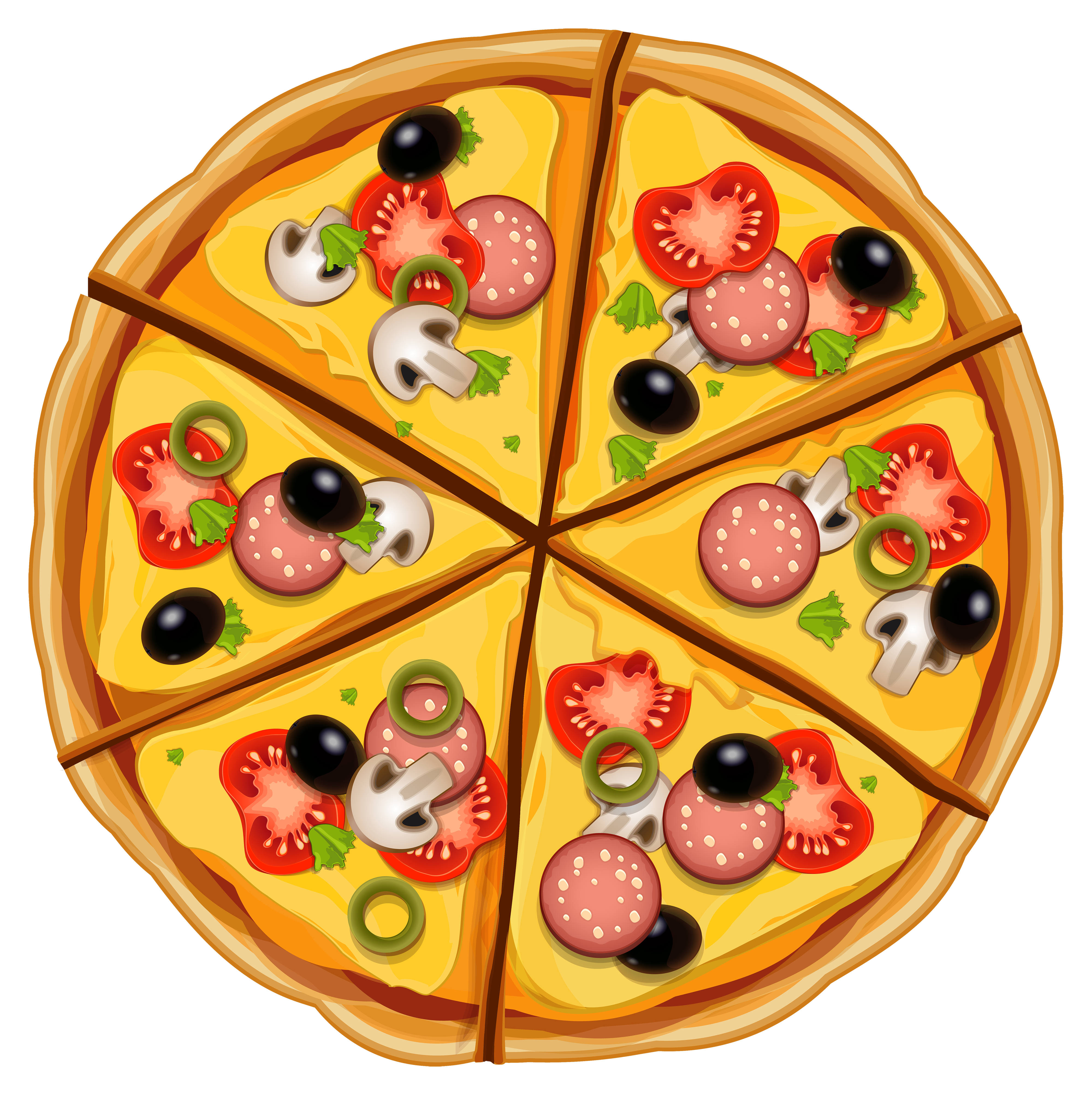 Pizza Clipart Web Clipart Png 4000 4011 Pizza Cartoon Pizza Drawing Food Png