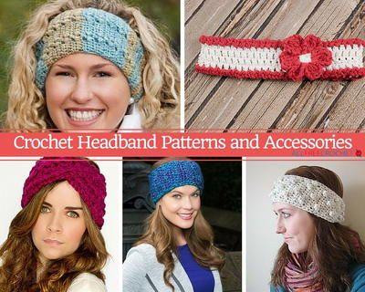 70 Crochet Headband Patterns Hair Stuff Pinterest Crochet