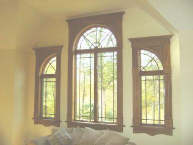 Gallery Of Trim Around Windows Family Room 12 Ceiling