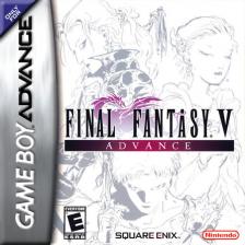 Final Fantasy V Advance Nintendo Game Boy Advance Cover Artwork