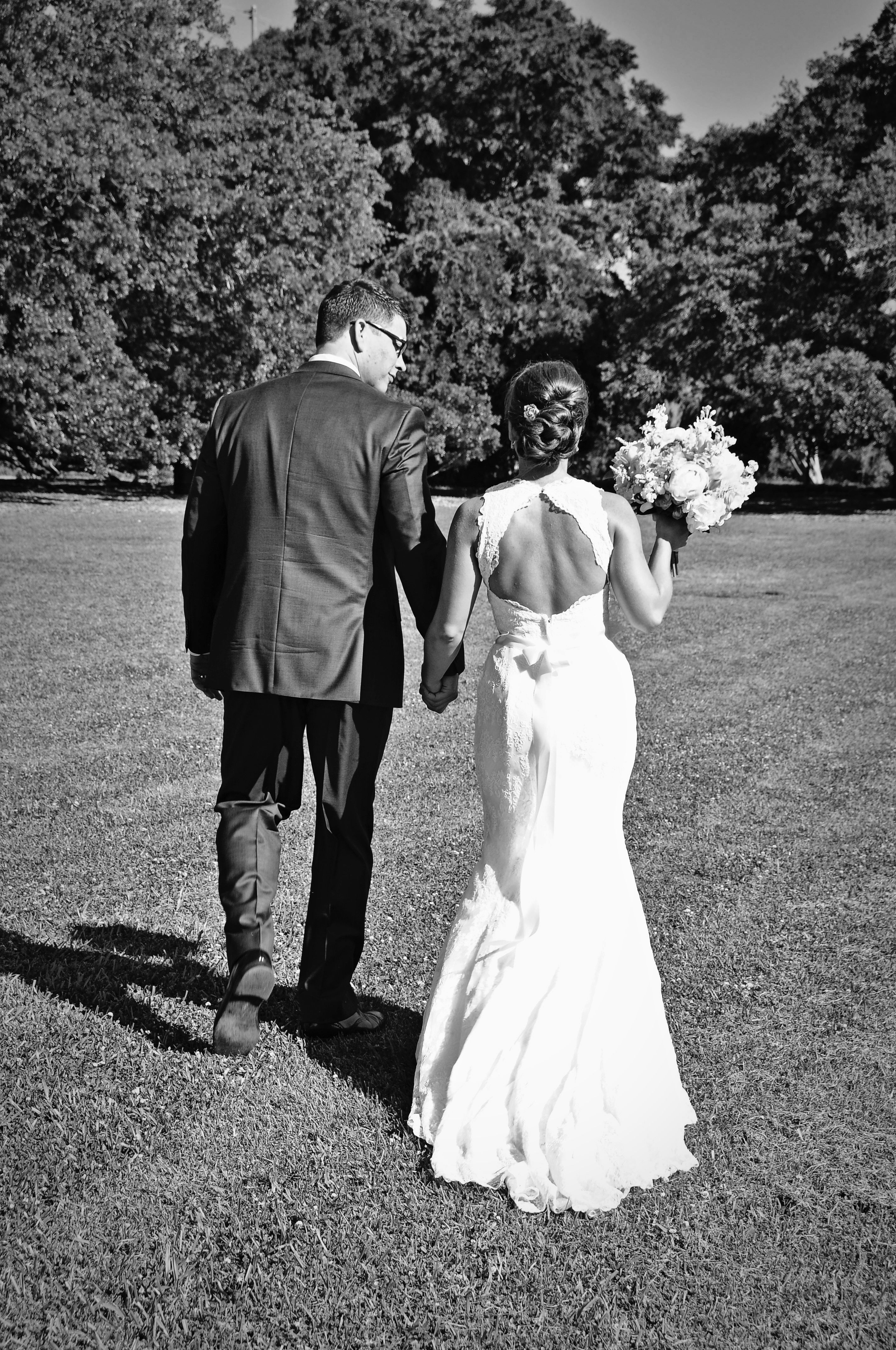 Our bride Megan featured on Borrowed & Blue. Wearing WTOO Lycette.