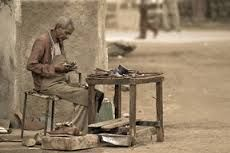 shoe mending in a hot places like Massawa.