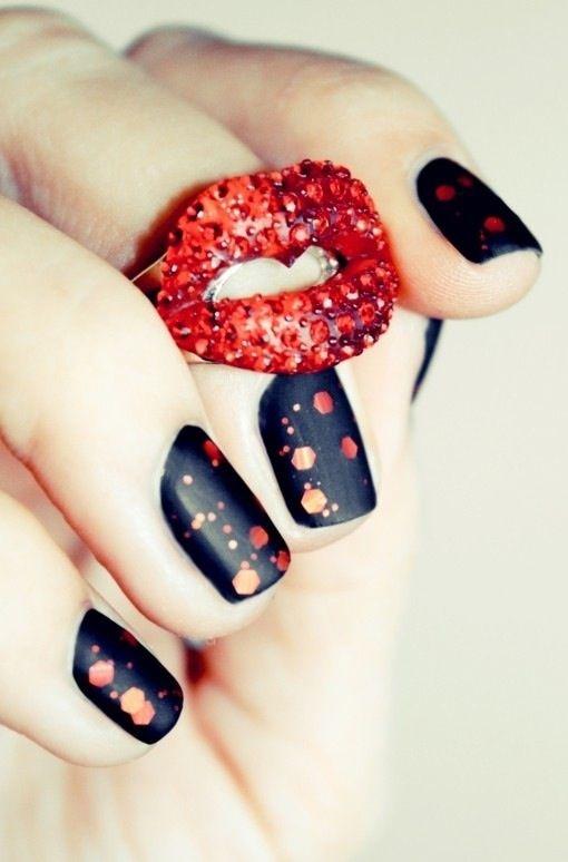 sparkles #nails
