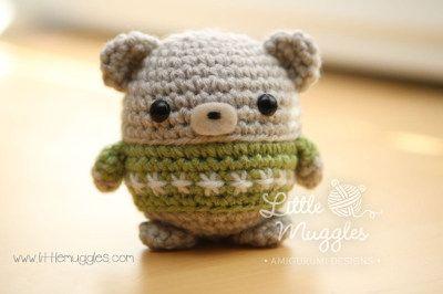 Amigurumi Crochet Patterns Teddy Bears : Amigurumi baby bear free crochet pattern tutorial crochet