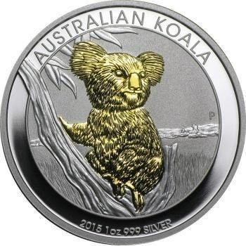 Buy 2015 Perth Mint 1 Oz Silver Koala Bu Glided Coins At Texasbullion Com If You Have Questions Or Would Like To Spe Silver Bullion Coins Silver Coins Coins