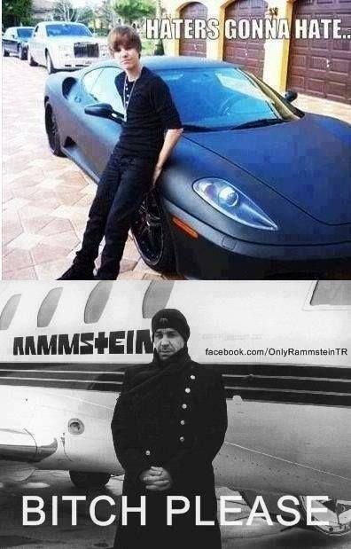 Hahahaha Rammstein beats all!!!!