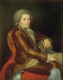 Manuel Tolsá. Pintor y arquitecto español.
