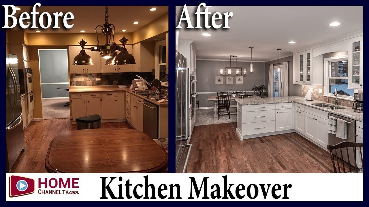 Kitchen Remodel Before After White Kitchen Design White