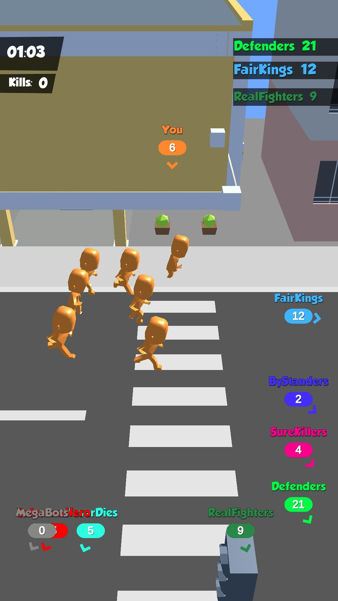 Crowd in City - Unity 3D Game Template for Android & IOS Source Code