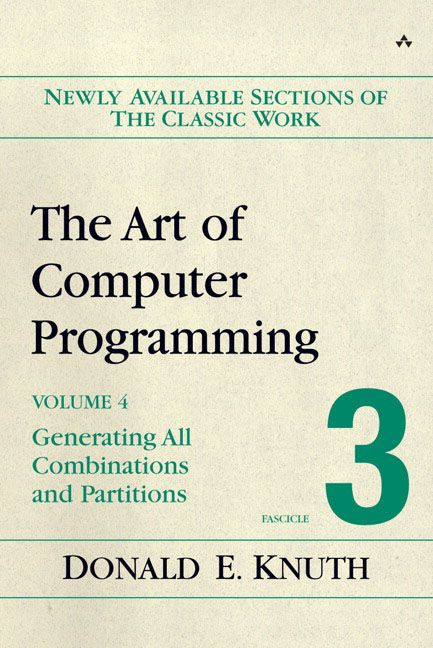 The Art of Computer Programming, Volume 4, Fascicle 3 Pdf
