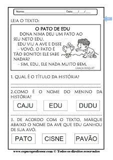 Espaco Professor Caderno De Atividades 1º E 2º Anos