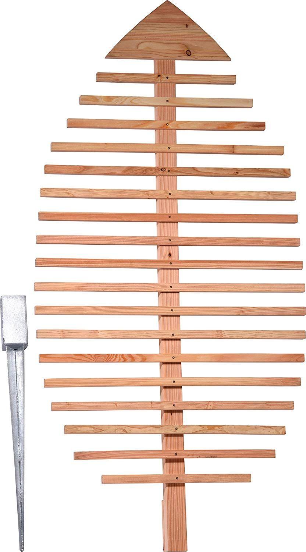 Dobar Pflanzen Rankhilfe Design In Blattform Rankgitter Aus Holz Xxl Rankgerust Larche Natur 84x6 5x160 Rankgitter Vintage Gartendekoration Trellis Design