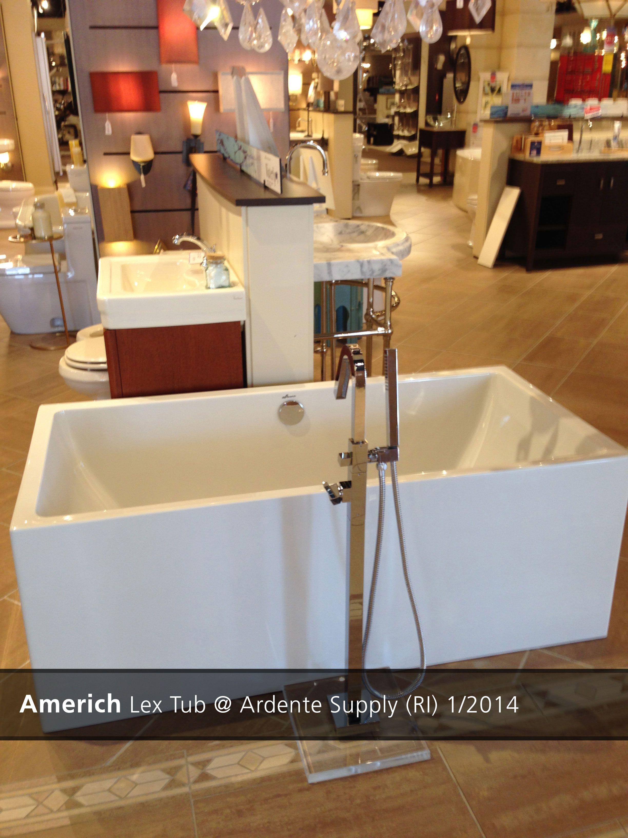 Americh Lex Tub Ardente Supply Ri 2014 Tub Showroom Display Showroom
