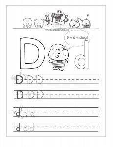 letter d practice sheet writing free handwriting worksheets alphabet worksheets. Black Bedroom Furniture Sets. Home Design Ideas