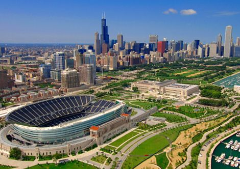 Home Of The Chicago Bears Soldier Field Chicago Landmarks Chicago Tourism Chicago Photos