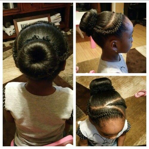 Braids And Bun Kids Hairstyles Kids Braided Hairstyles Hair Styles