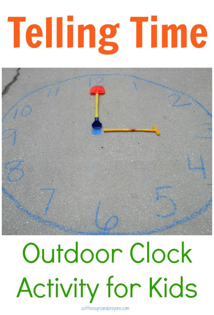 Telling Time Activity for Kids | Activities for kids ...