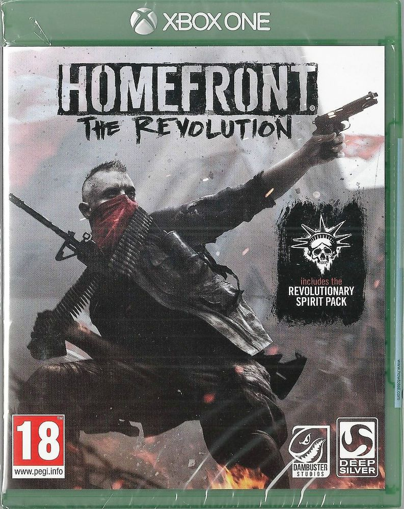 Details about Xbox ONE Homefront The Revolution Brand NEW