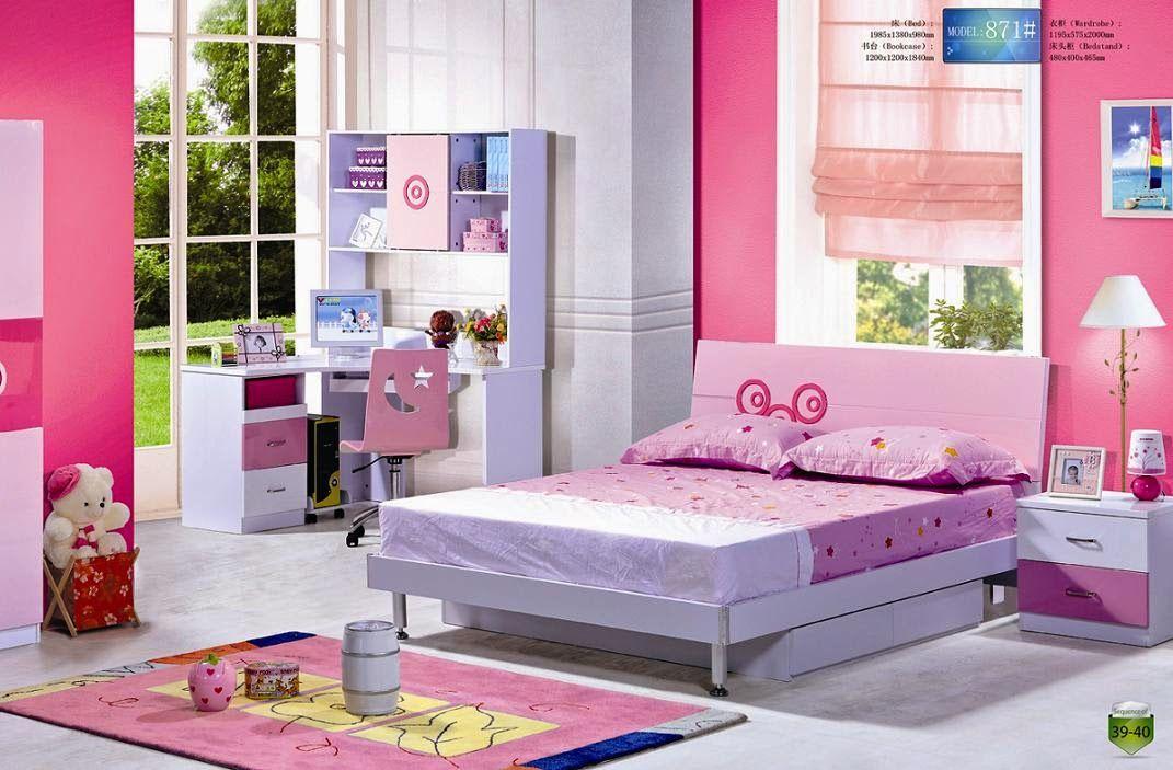 chambre ado #fille  chambre a coucer designe et decoration