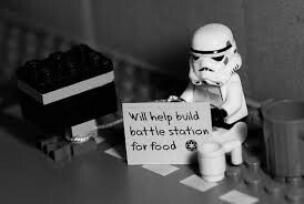 Well there ya have it storm troopers can be hobos too
