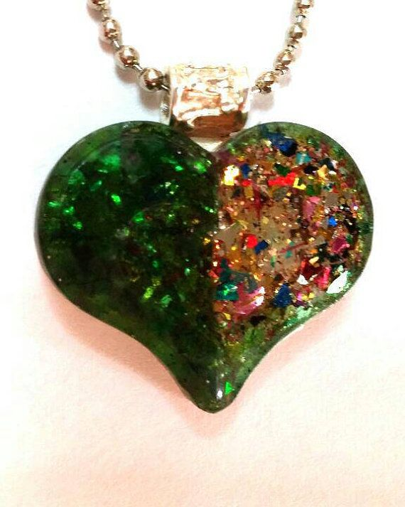 Check out this item in my Etsy shop https://www.etsy.com/il-en/listing/249587347/free-shippingresin-green-glitter-color