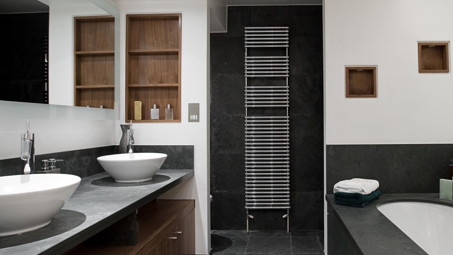 Rivestimenti Bagno In Ardesia : Pavimenti interni in pietra foto design mag