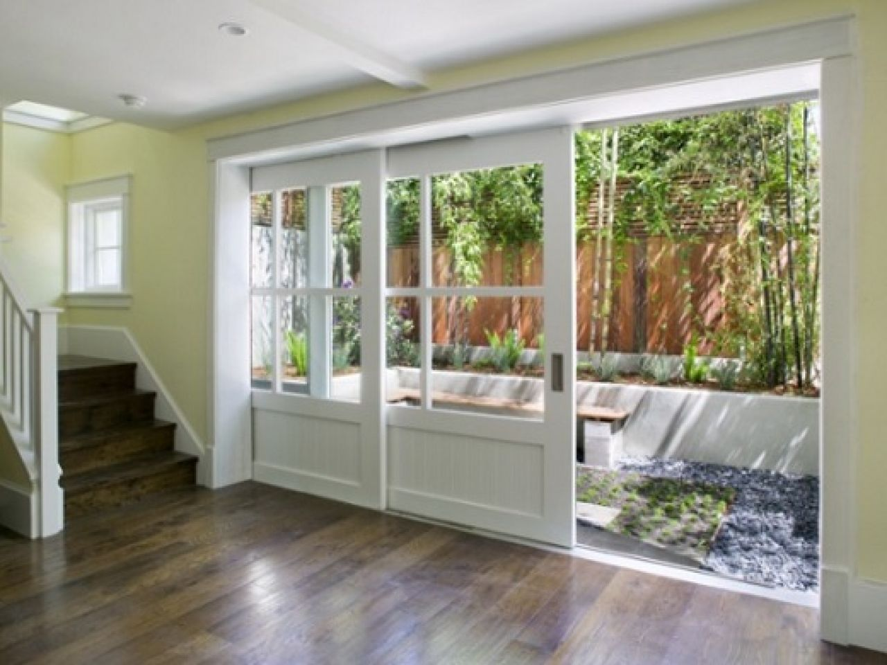 Sliding Doors Allow Light More Natural Than Other Types Of Doors