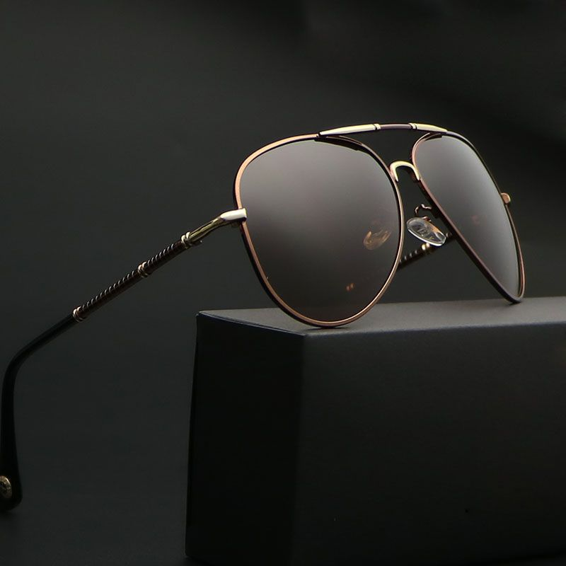 c1e1f10c97 2017 New Polarized Sunglasses Men Brand Designer aviation Male Vintage  Eeywear AAA Quality Fashion Man Sport