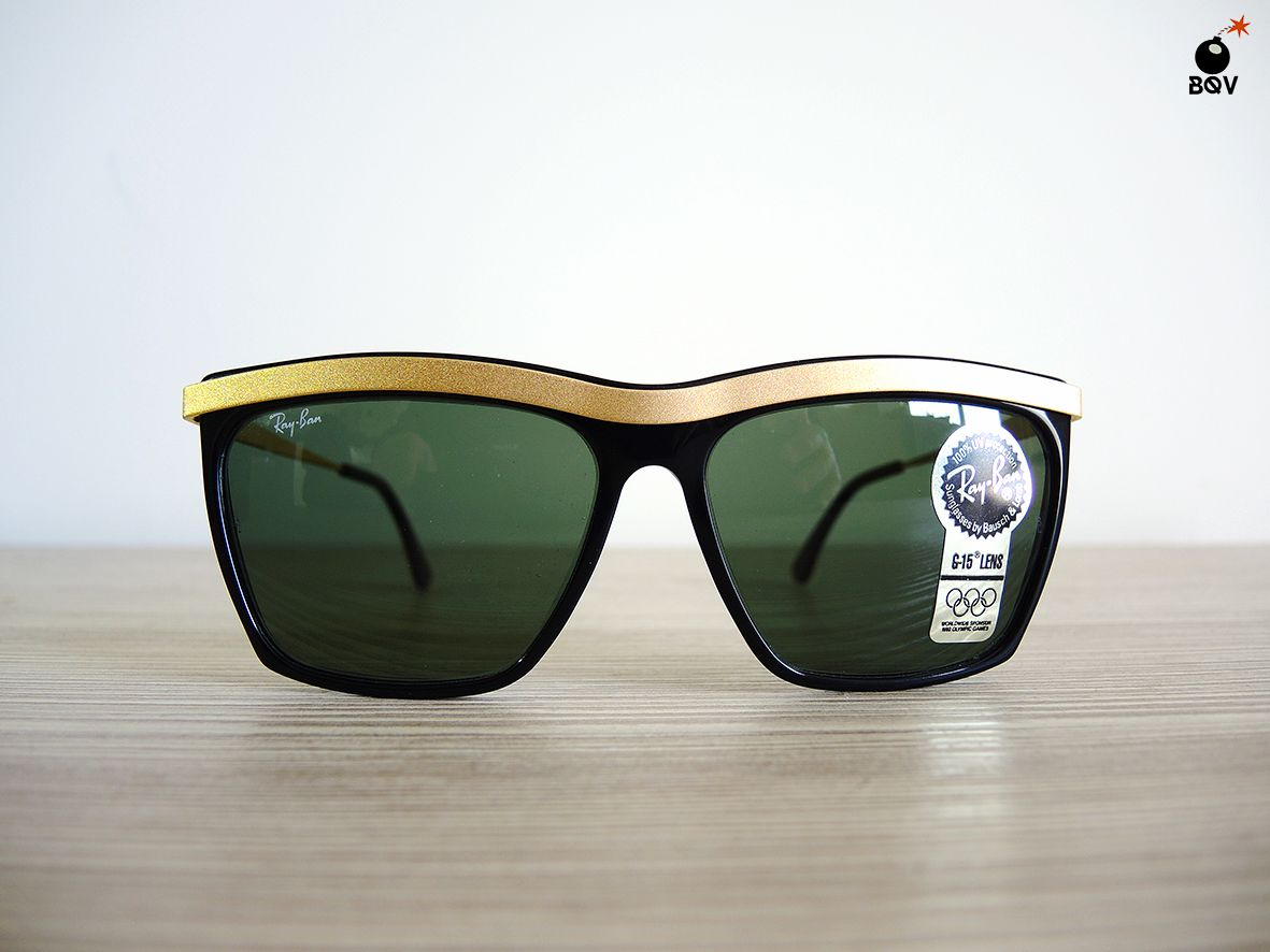ray ban olympian deluxe negras