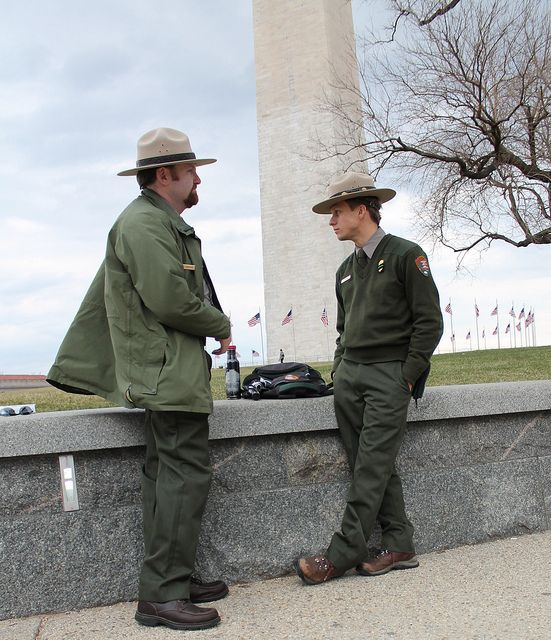 04a Nps Rangers Gwmg Wdc 7january2012 Park Ranger National Parks National Mall
