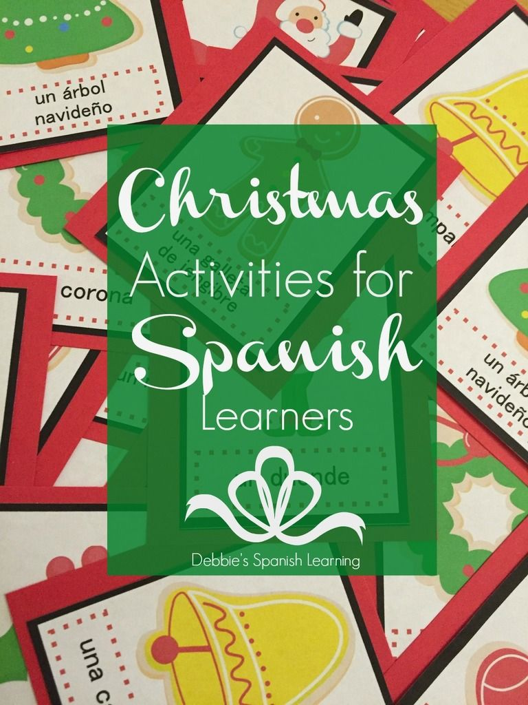 Christmas Teaching Resources in Spanish {Free Printable} - Repinned by  Chesapeake College Adult Ed. We offer free classes on the Eastern Shore of  MD to help ...
