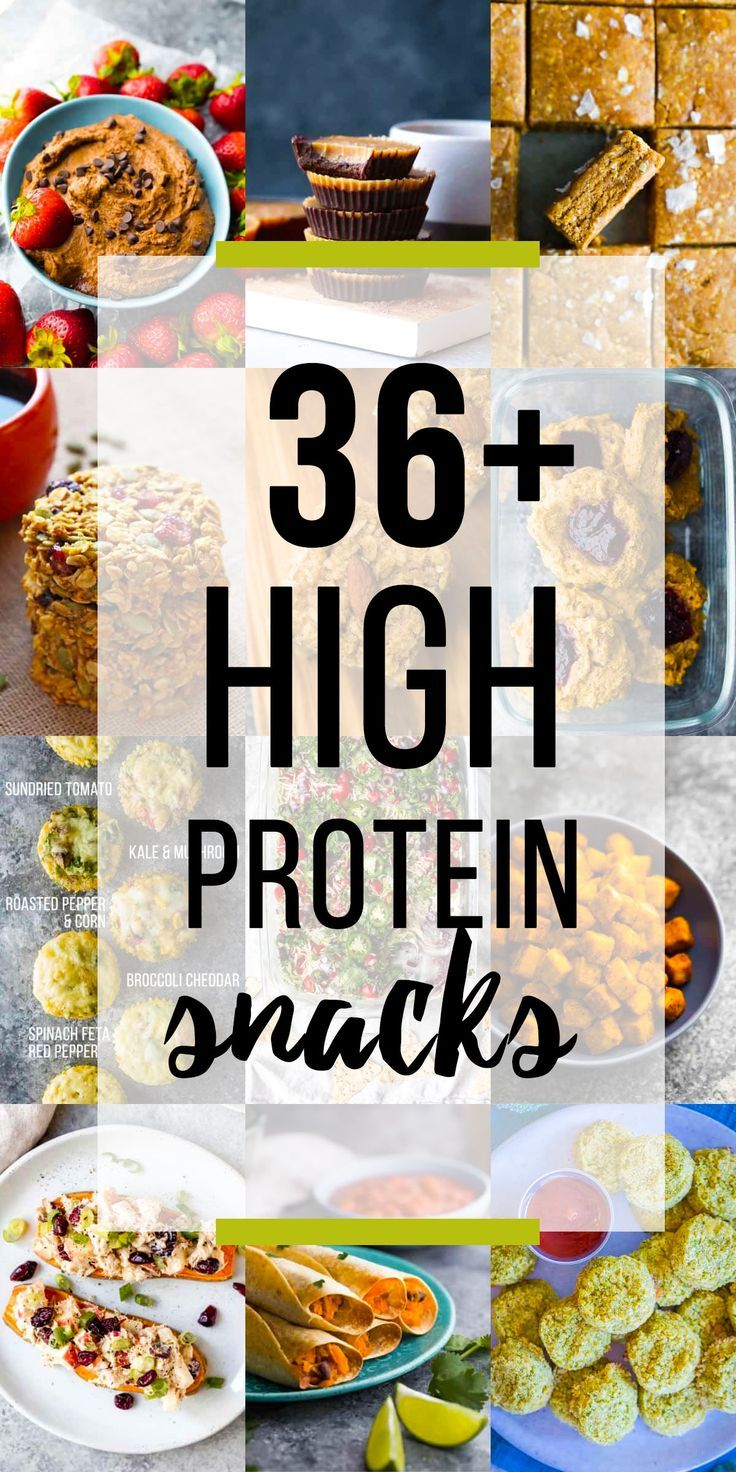 High Protein Snacks images