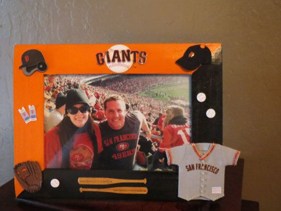 Mlb San Francisco Giants Picture Frame By Jacqdosch On Etsy